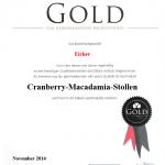 Cranberry-Macadamia-Stollen